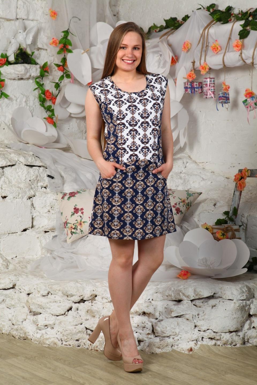 Платье женское Восточные узоры<br><br>Размер: 52