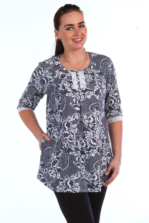 Туника женская ПелагеяТуники, рубашки и блузы<br><br><br>Размер: 50