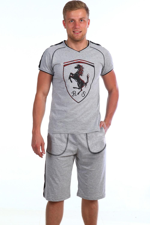 Костюм мужской Хорс футболка и шортыКостюмы<br><br><br>Размер: 52