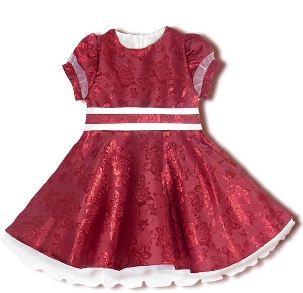 Платье нарядное ЛедиПлатья и сарафаны<br><br><br>Размер: 28 (рост 92 см)