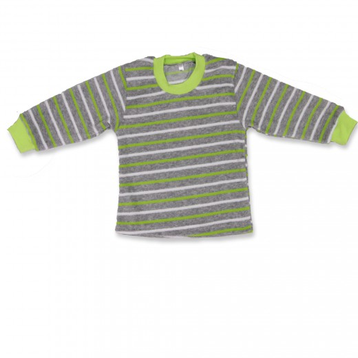 Джемпер для мальчика ПолоскаСвитеры, водолазки, джемперы<br><br><br>Размер: 24 (рост 80 см)