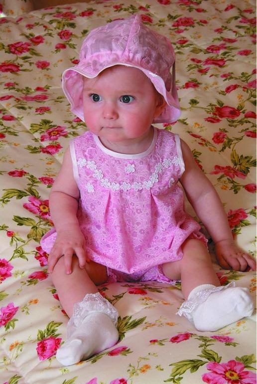 Панама детская BebiЧепчики, шапочки<br><br><br>Размер: Персиковый