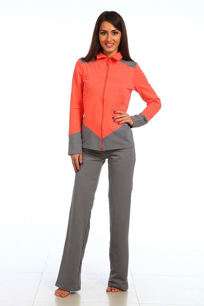 Костюм женский Леди куртка и брюкиКоллекция ОСЕНЬ-ЗИМА<br><br><br>Размер: Оливковый