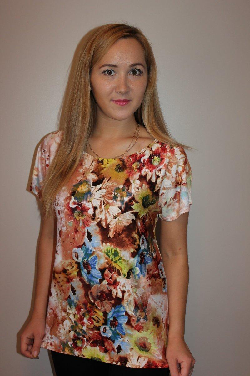 Блузка женская ЧаровницаБлузы<br><br><br>Размер: 56
