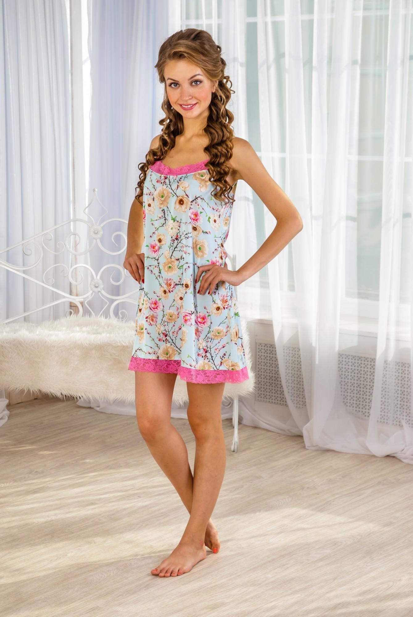 Сорочка женская БуржуаСорочки<br><br><br>Размер: 46