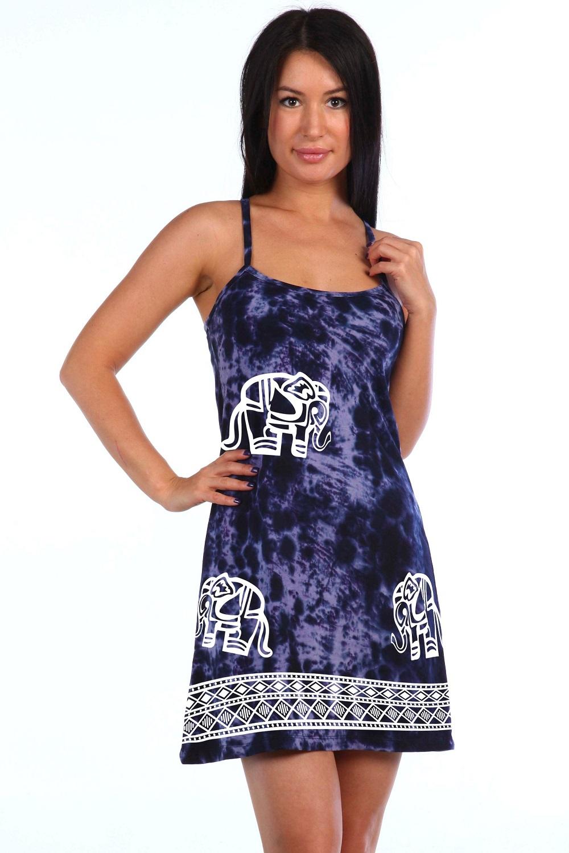 Сарафан женский Индийские слоникиСарафаны<br><br><br>Размер: 48