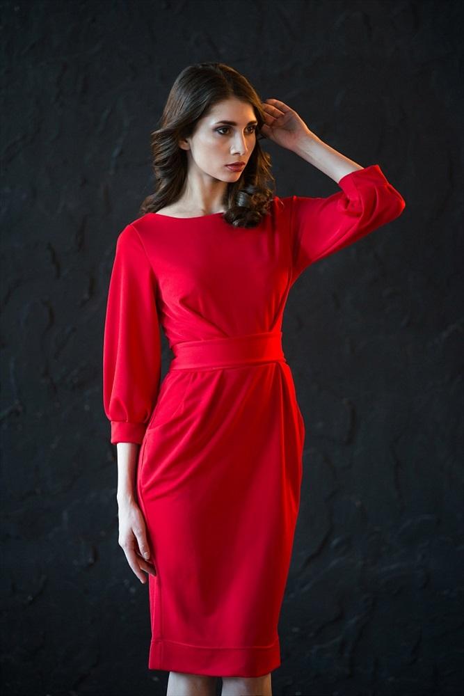 Платье женское Classic FashionКоллекция ОСЕНЬ-ЗИМА<br><br><br>Размер: 50