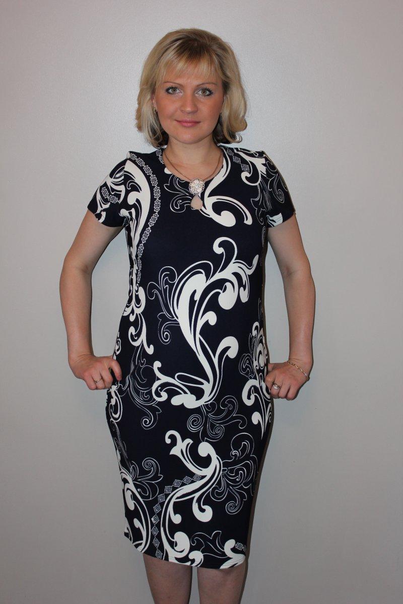 Платье женское ПрелестьПлатья и сарафаны<br><br><br>Размер: 56