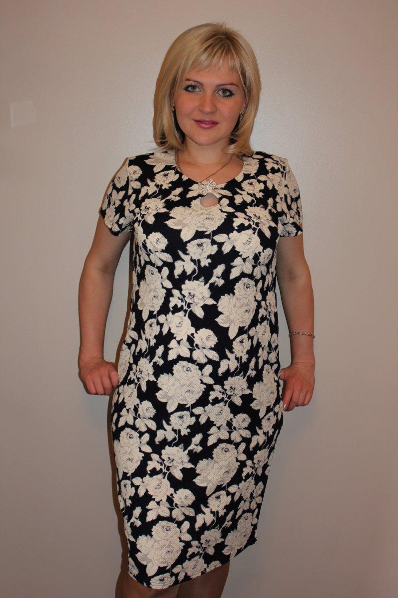 Платье женское Белая розаПлатья и сарафаны<br><br><br>Размер: 56