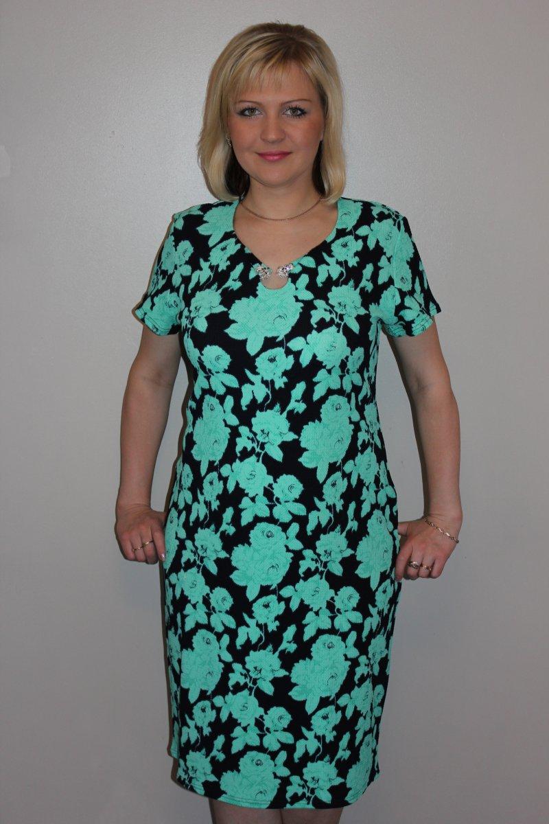 Платье женское КончитаПлатья и сарафаны<br><br><br>Размер: 56