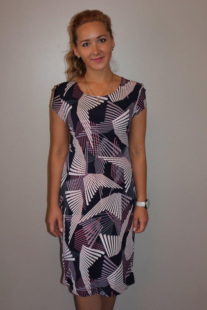 Платье женское ПолетКоллекция ВЕСНА-ЛЕТО<br><br><br>Размер: 54