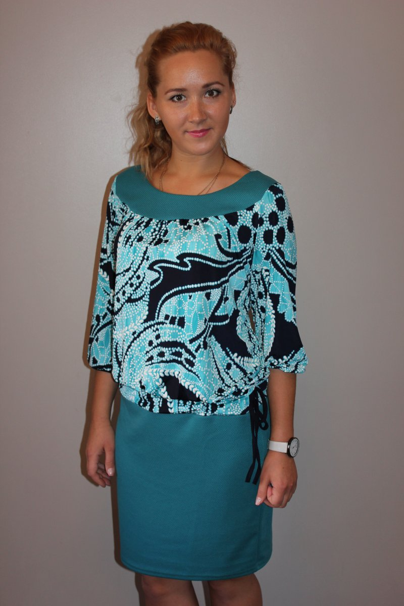 Платье женское ЗояПлатья и сарафаны<br><br><br>Размер: 54