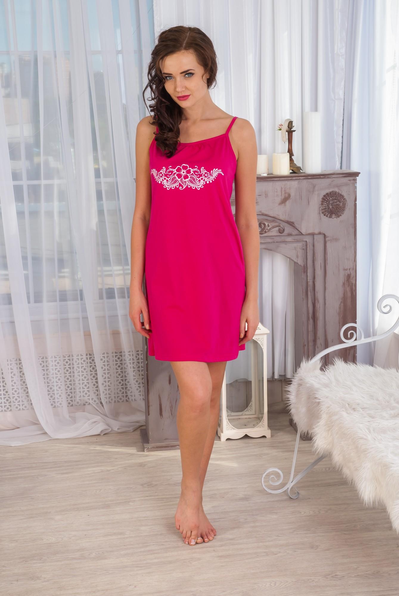 Сорочка женская ЛюбаваСорочки<br><br><br>Размер: 40