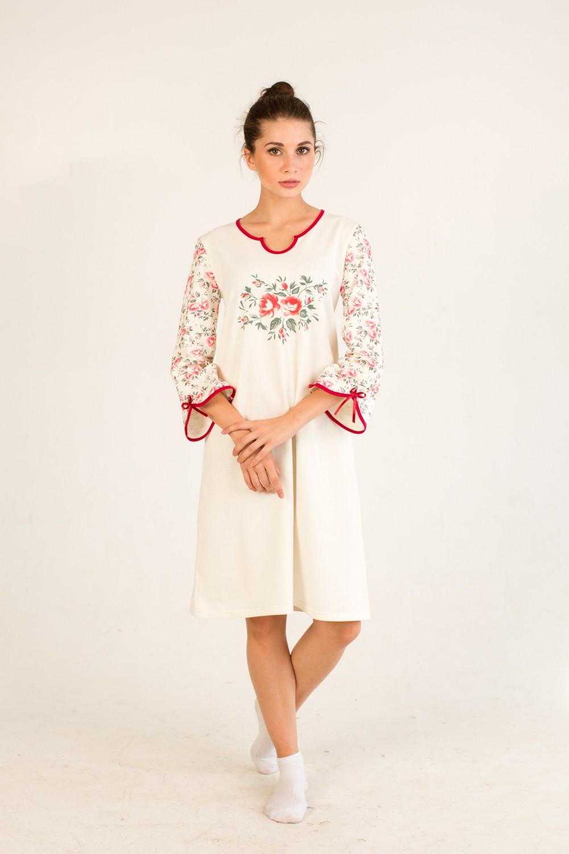 Сорочка женская ВероникаДомашняя одежда<br><br><br>Размер: 58