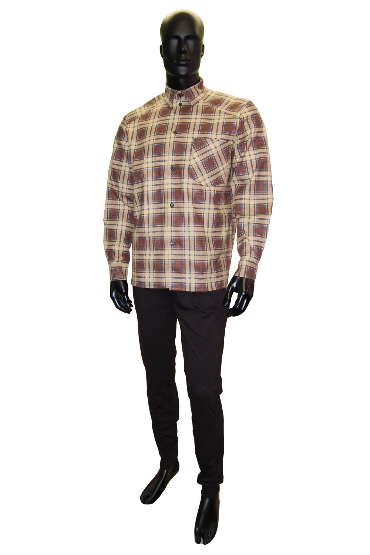 Рубашка мужская Гигант фланельРубашки<br><br><br>Размер: 47