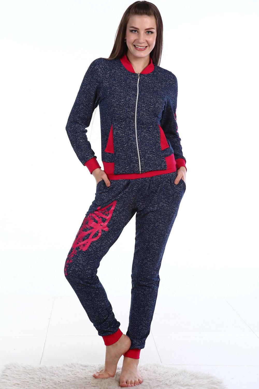 Костюм женский Брызги толстовка и брюкиКоллекция ОСЕНЬ-ЗИМА<br><br><br>Размер: Красный