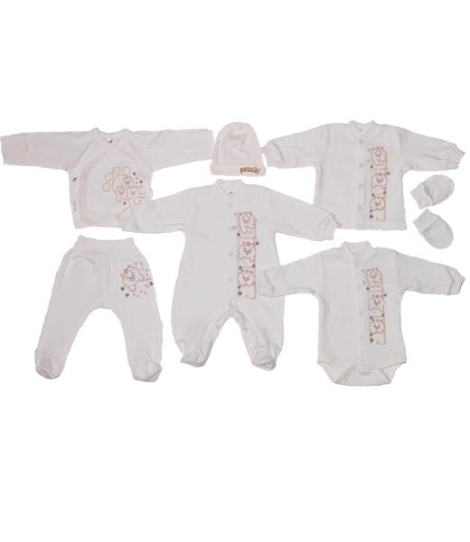 Комплект одежды для новорожденного КотёнокКостюмы, комплекты одежды<br><br><br>Размер: Бежевый