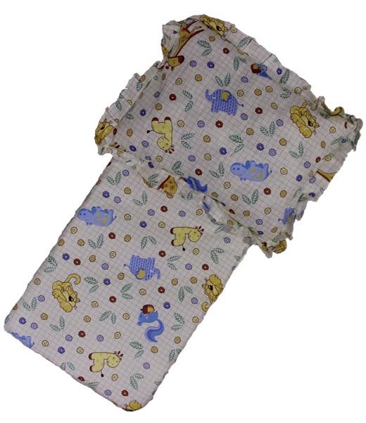 Комплект в коляску Игруля подушка и матрацКомплекты в коляску, кроватку<br><br><br>Размер: Жёлтый