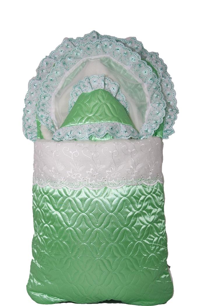 Комплект на выписку Атлас - мехКомплекты на выписку<br><br><br>Размер: Зеленый