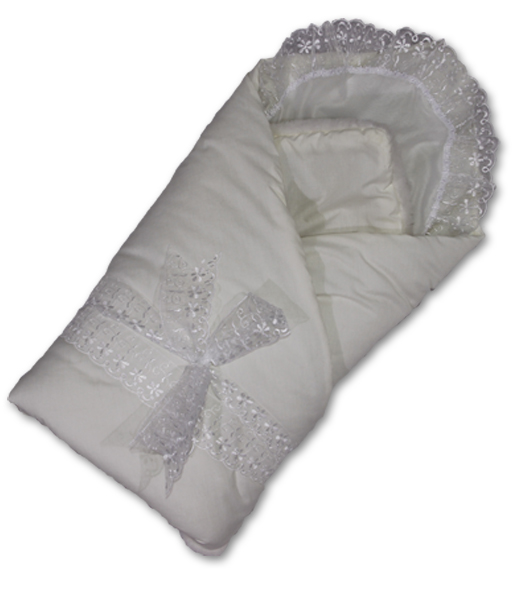 Одеяло на выписку мех КрохаКомплекты на выписку<br><br><br>Размер: Белый