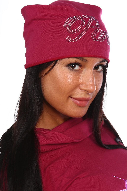 Шапка женская АмарантГоловные уборы<br><br><br>Размер: Розовый