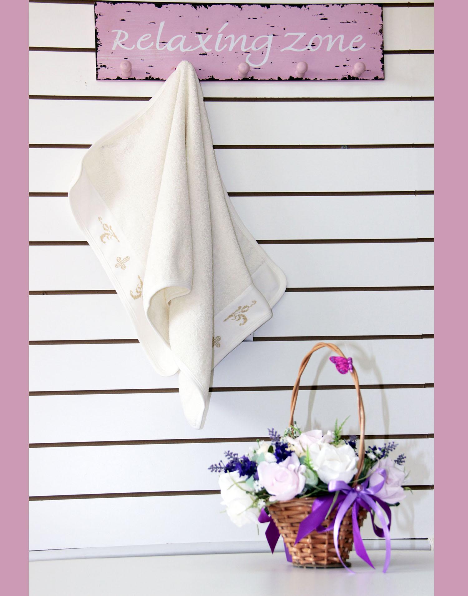 Крестильное полотенце АнгелКрестильные наборы<br><br><br>Размер: 50х95