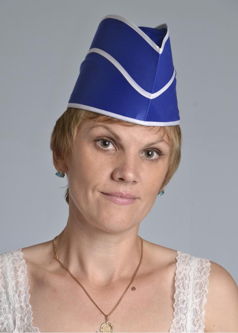 Пилотка женская АлисаДля общепита<br><br><br>Размер: Синий