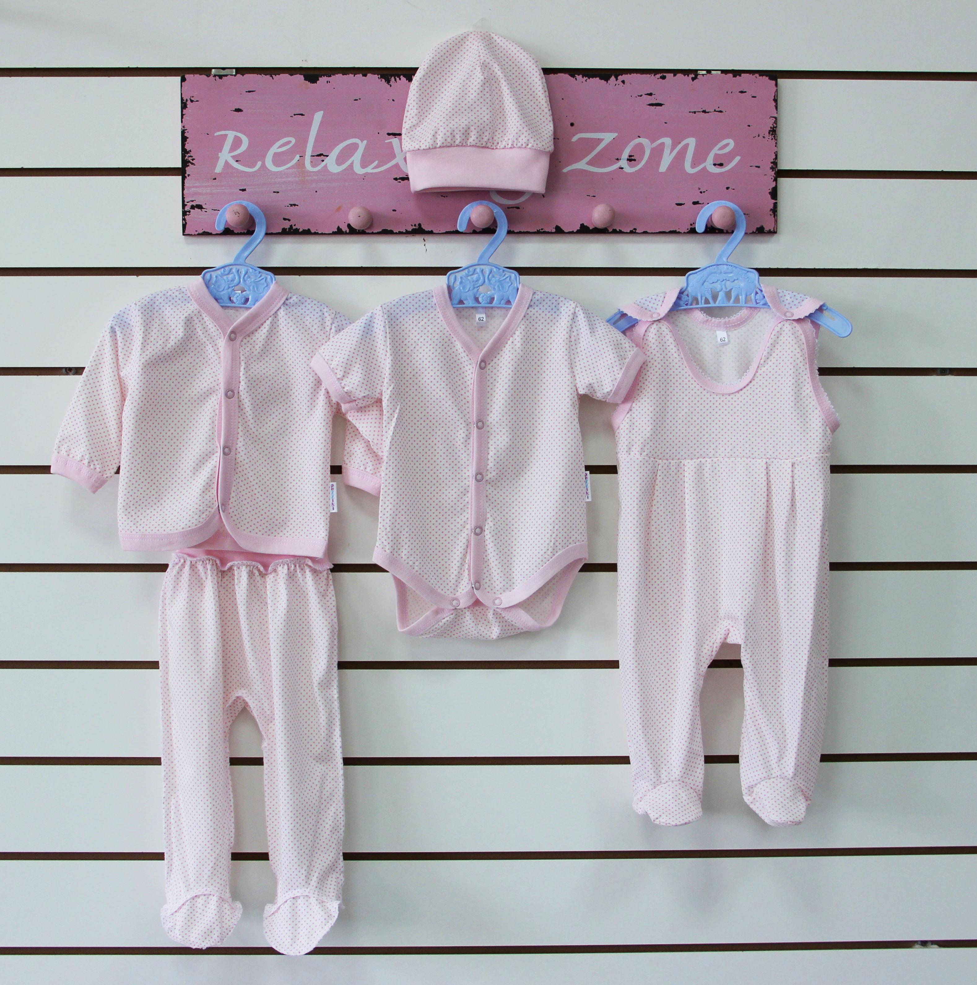 Комплект  одежды для новорожденного КатенькаКостюмы, комплекты одежды<br><br><br>Размер: 22 (рост 68 см)