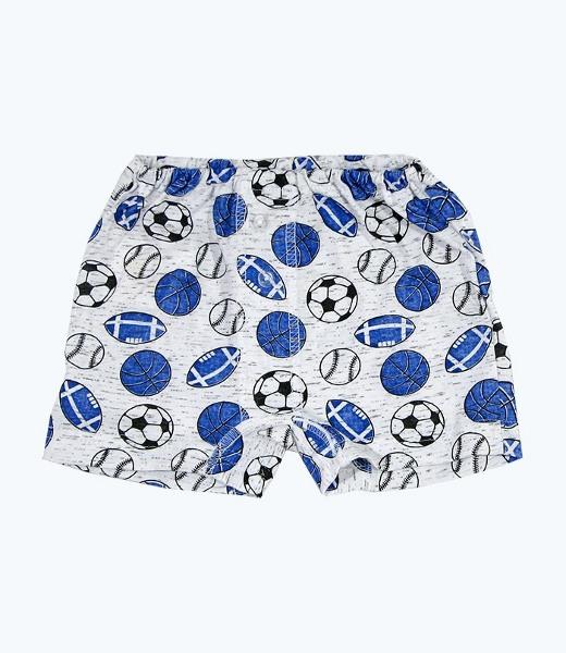 Трусы - шорты для мальчика ФутболистНижнее белье<br><br><br>Размер: Вертолетики
