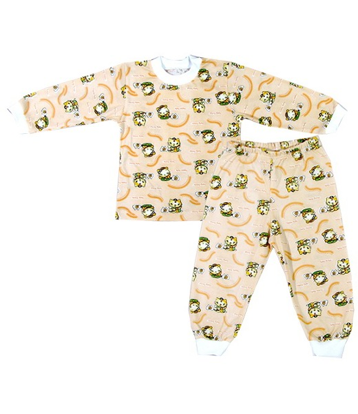 Пижама детская КисаХалаты и пижамы<br><br><br>Размер: Сиреневый