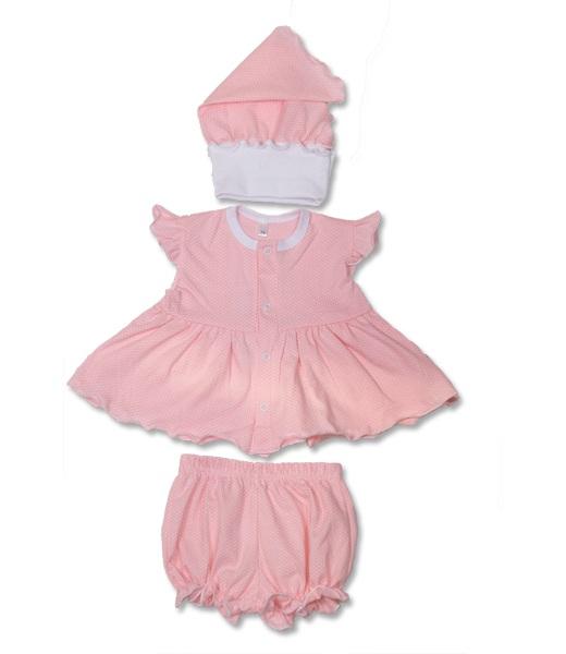 Комплект одежды для девочки Модняшка платье, трусики и косынкаКомплекты и костюмы<br><br><br>Размер: Голубой