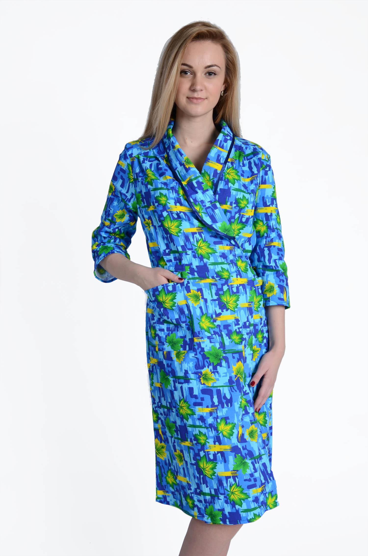 Халат женский КатеринаДомашняя одежда<br><br><br>Размер: 48