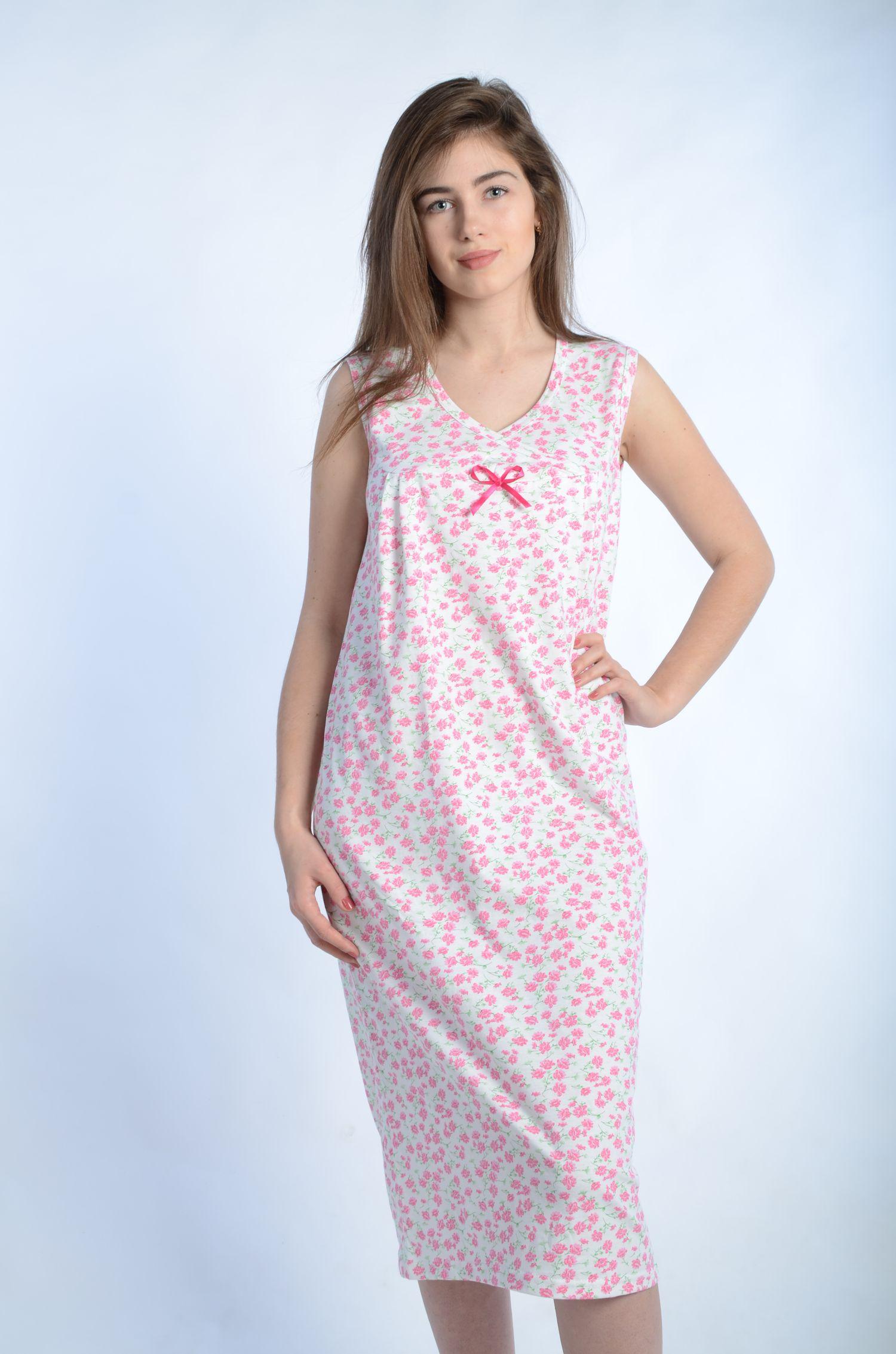 Сорочка женская МэриСорочки<br><br><br>Размер: Розовый