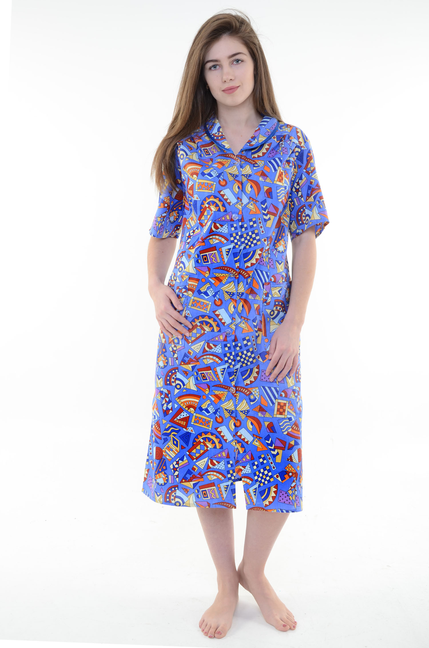 Халат женский ВасилисаДомашняя одежда<br><br><br>Размер: 48