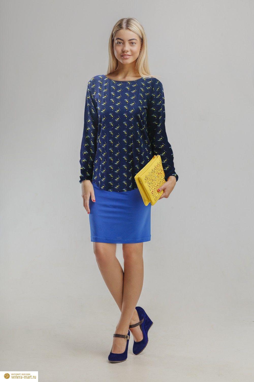 Блуза женская ВечерТуники, рубашки и блузы<br><br><br>Размер: 56