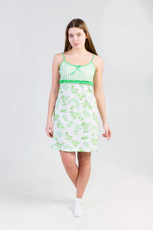 Сорочка женская ФлораСорочки<br><br><br>Размер: 44