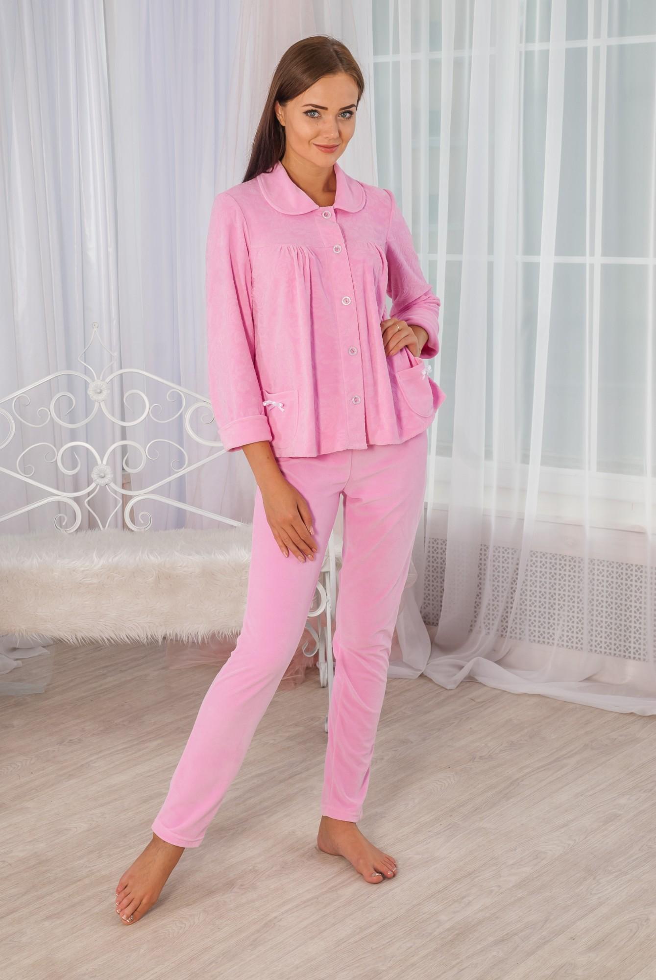 Костюм женский Жаккард кофта на пуговицах и брюкиКоллекция ОСЕНЬ-ЗИМА<br><br><br>Размер: 50