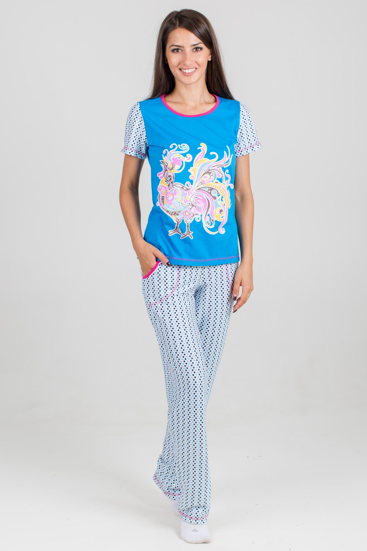 Костюм женский Феникс-2 футболка и брюкиКоллекция ОСЕНЬ-ЗИМА<br><br><br>Размер: 54