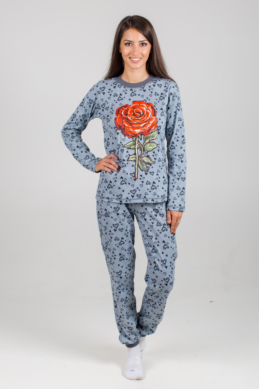 Костюм женский Роза блуза и брюкиКоллекция ОСЕНЬ-ЗИМА<br><br><br>Размер: 54