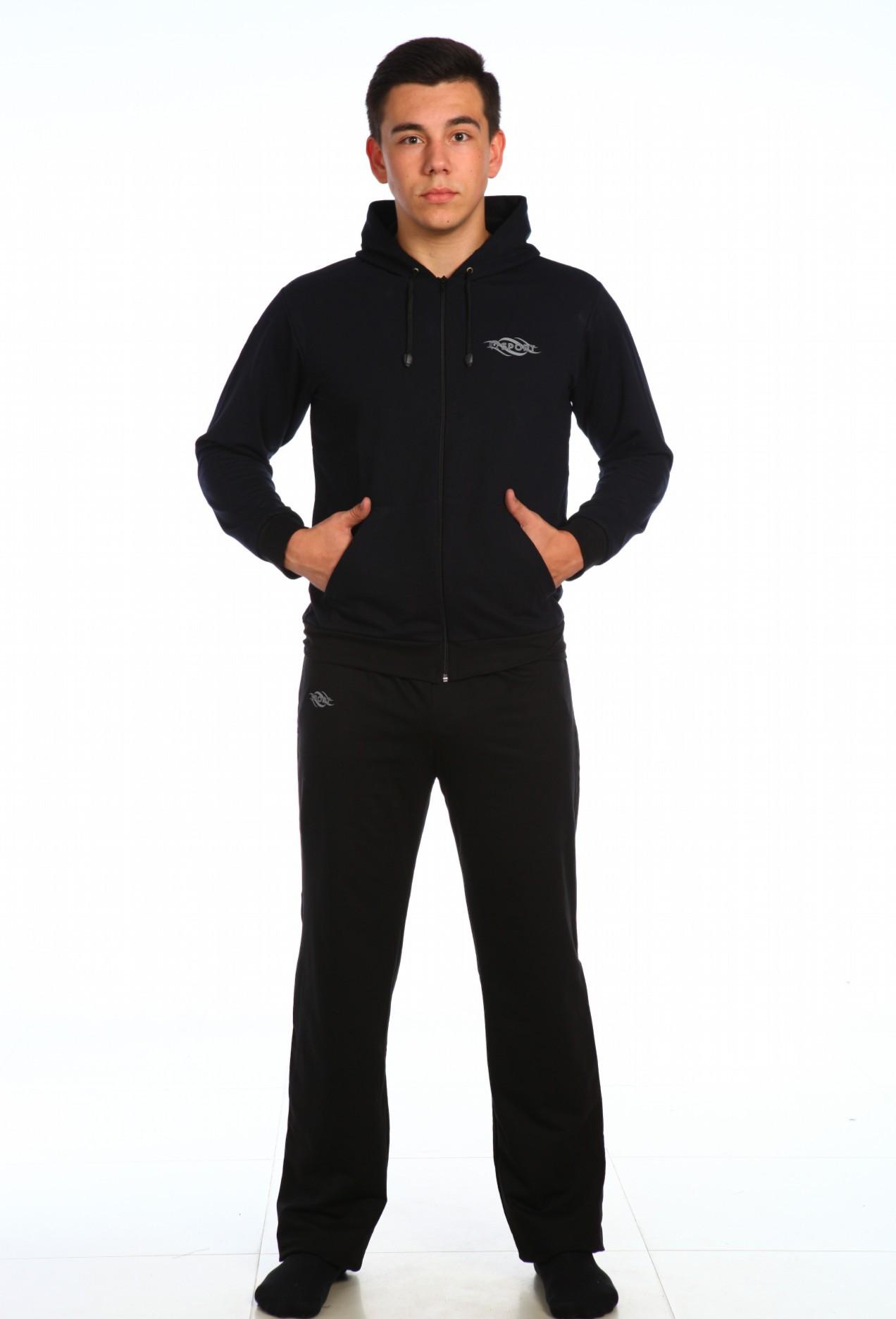 Костюм мужской Спорт толстовка и брюкиКостюмы<br><br><br>Размер: 60