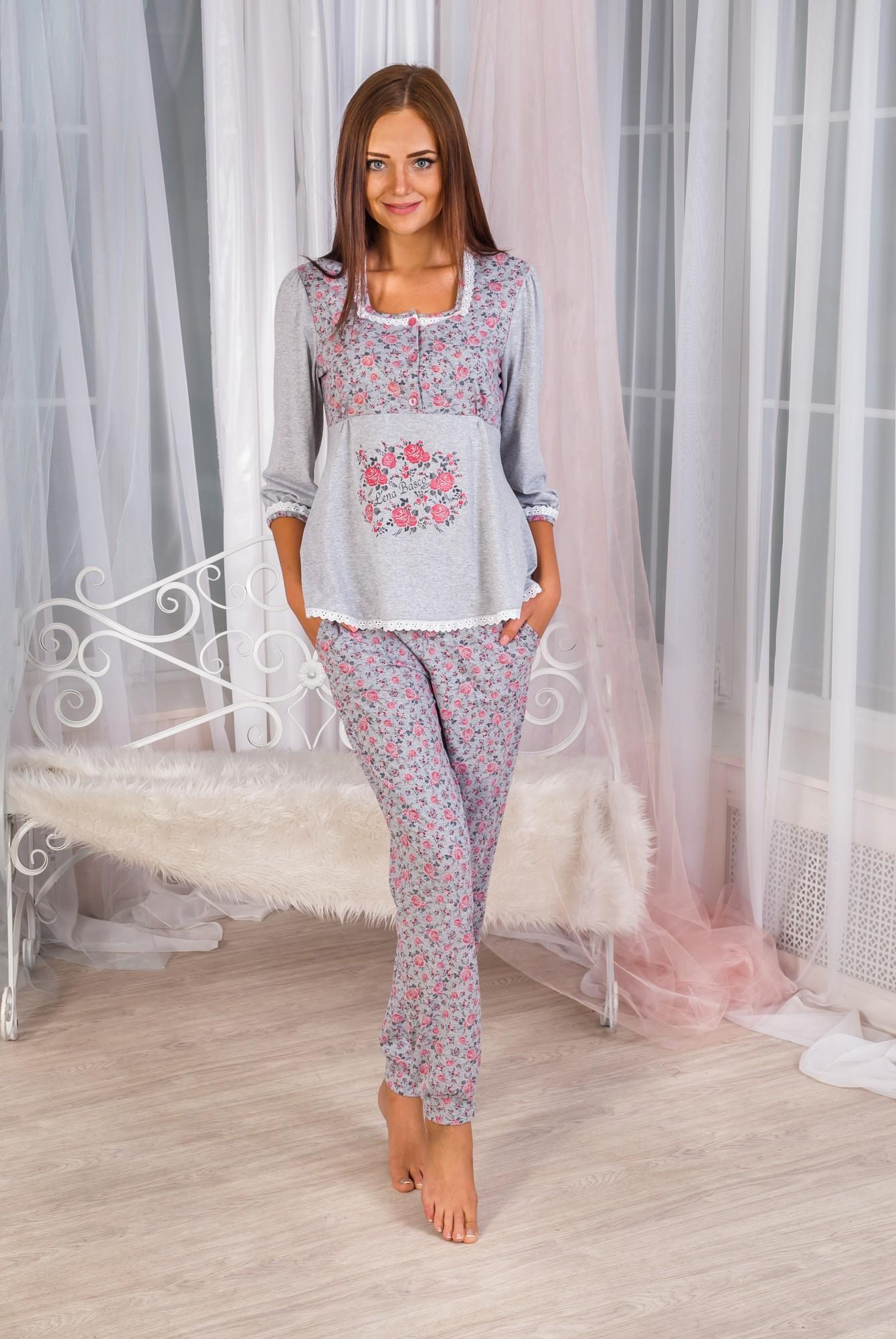 Костюм женский домашний Мишель кофта и брюкиКоллекция ОСЕНЬ-ЗИМА<br><br><br>Размер: 44