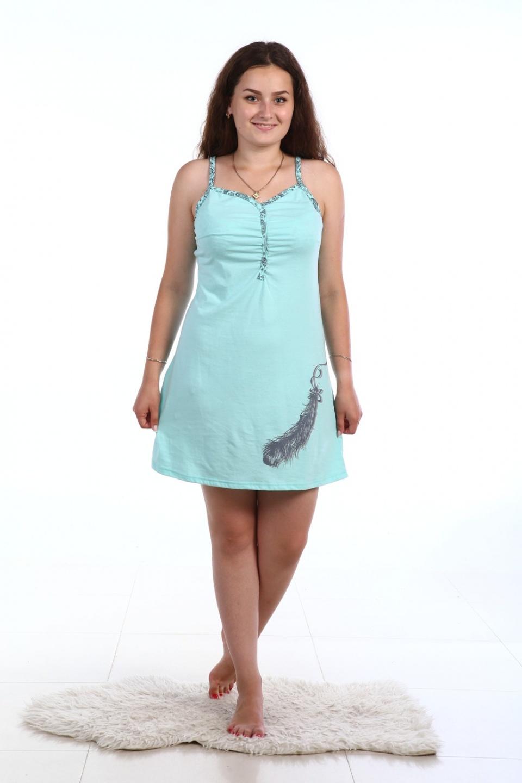 Сорочка женская ПёрышкоСорочки<br><br><br>Размер: 54