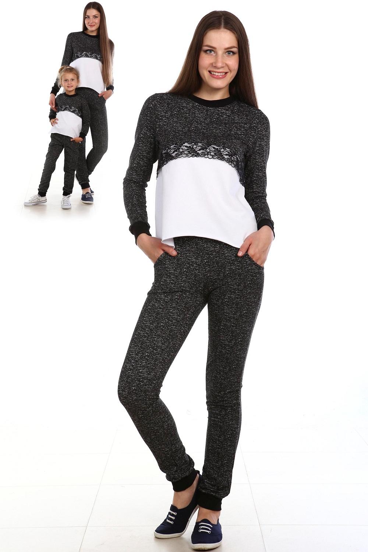Костюм женский Гипюр кофта и брюкиКоллекция ВЕСНА-ЛЕТО<br><br><br>Размер: 46
