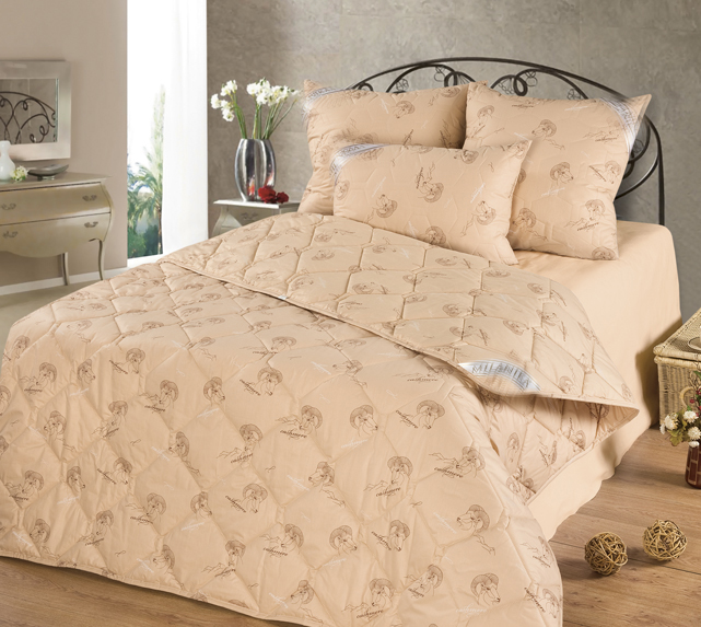 Набор одеял 4 сезона (кашемир) в тикеОдеяла<br><br><br>Размер: 2 спальное (172х205)