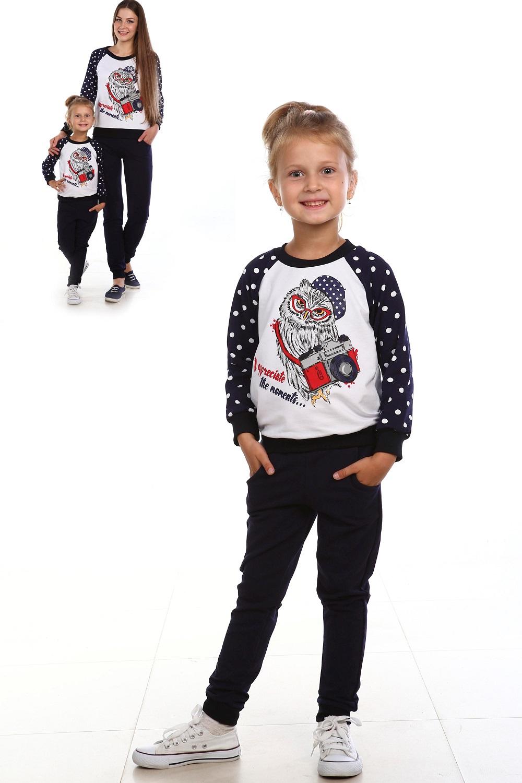 Костюм детский Кнопа кофта и брюкиКомплекты и костюмы<br><br><br>Размер: Рост 116 (размер 30)