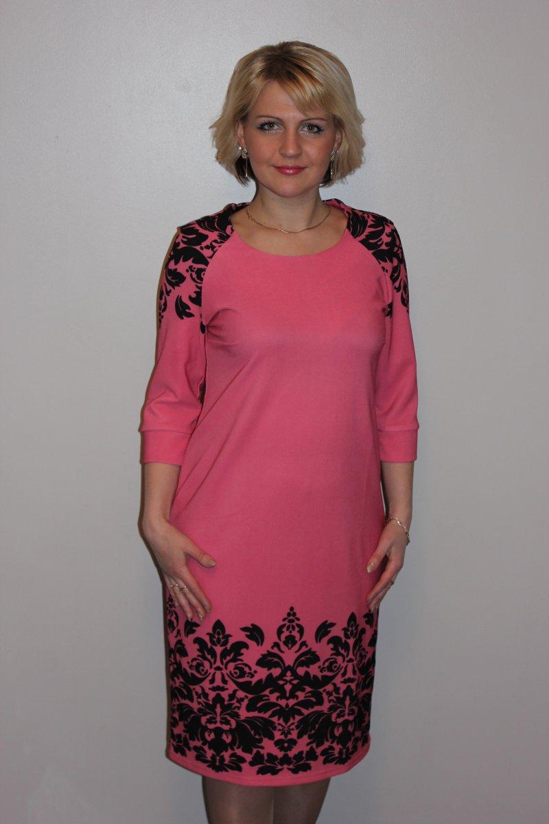 Платье женское ЛуараПлатья и сарафаны<br><br><br>Размер: 48