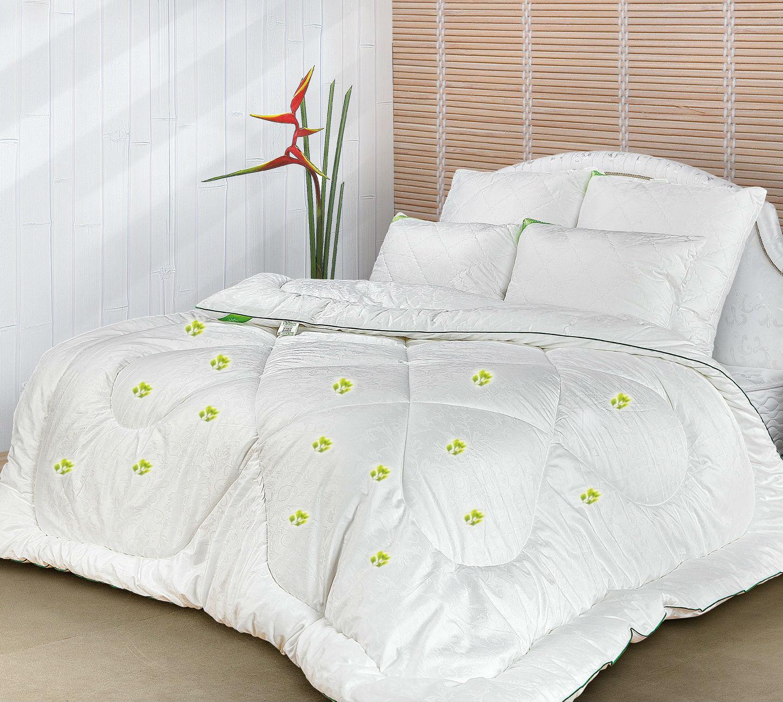 Набор одеял 4 сезона (эвкалипт) в тикеДетские одеяла и подушки<br><br><br>Размер: 2 спальное (172х205)