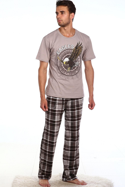 Костюм мужской Техас футболка и брюкиКостюмы<br><br><br>Размер: 56