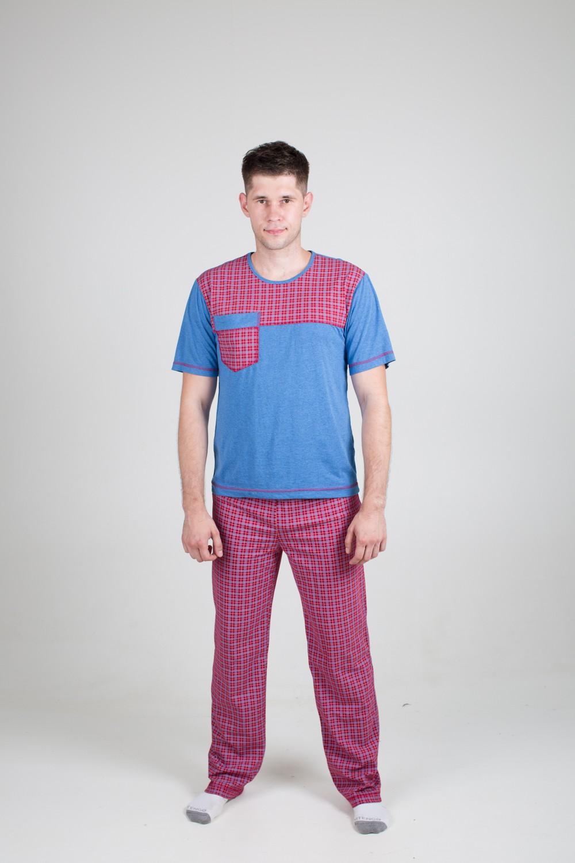 Пижама мужская Максим футболка и брюкиОдежда для сна<br><br><br>Размер: 42