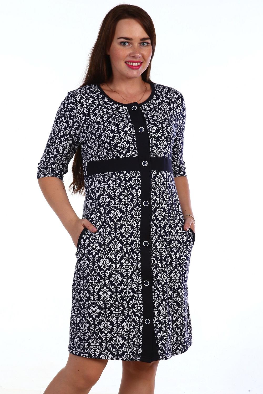 Халат  женский ИзыскДомашняя одежда<br><br><br>Размер: 54